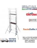 Prolunga per Trabattello Alluminio Facal Pinna Clic + Stabilizzatori - SPEDIZIONE GRATUITA