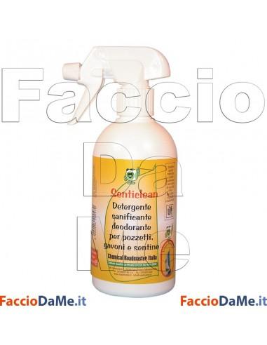 Senticlean Linea Nautica Detergente Sanificante Deodorante per Pozzetti Gavoni Sentine WC