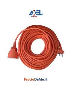 Prolunga Corrente Elettrica Axel FU8440 Presa Schuko Tedesca 25 Metri Interno Esterno