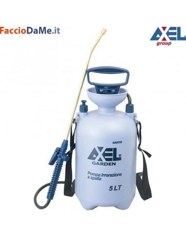 Pompa Spruzzatore Vaporizzatore a Spalla Irrorazione Pressione 5 lt Axel GA0708