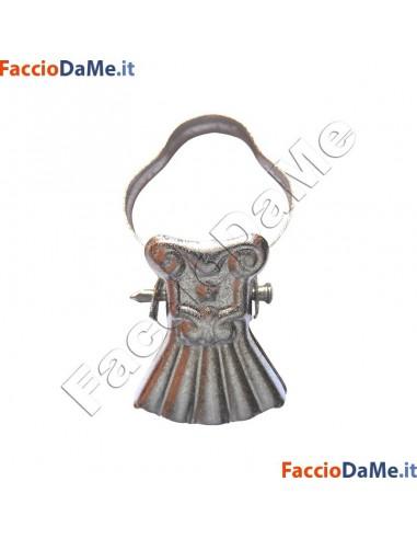 Pinze Pinzettone ad Arco Apribili per Anelli Tende in Acciaio Vari Colori 10pz