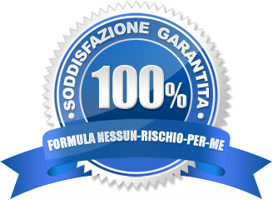 100% soddisfazione garantita